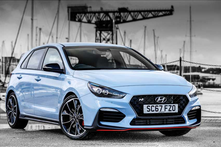 spotlight on the new hyundai i30 n. Black Bedroom Furniture Sets. Home Design Ideas