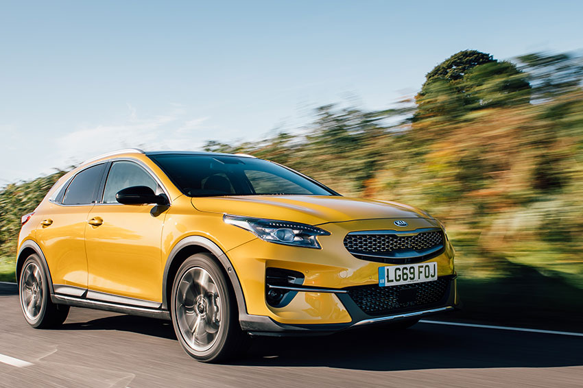 The all-new Kia XCeed.