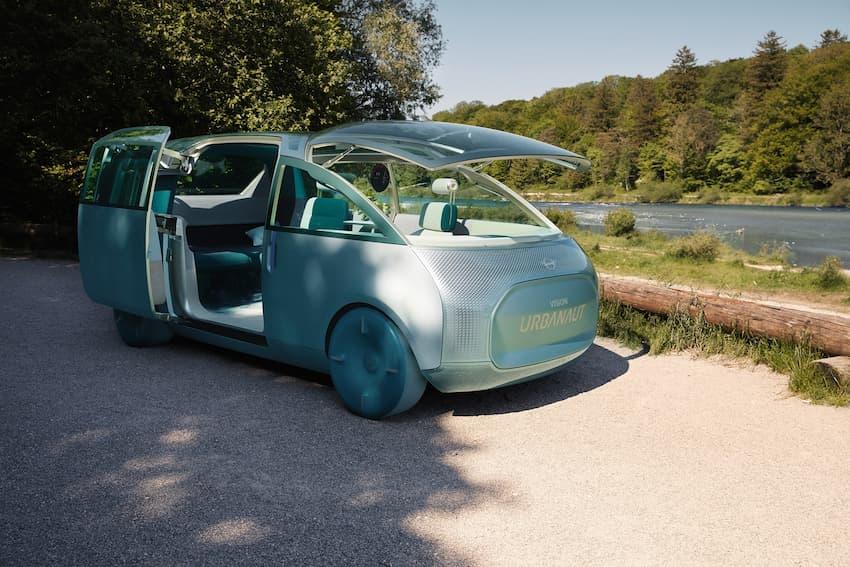 The MINI Urbanaut concept car