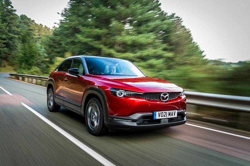 The all-new Mazda MX-30.