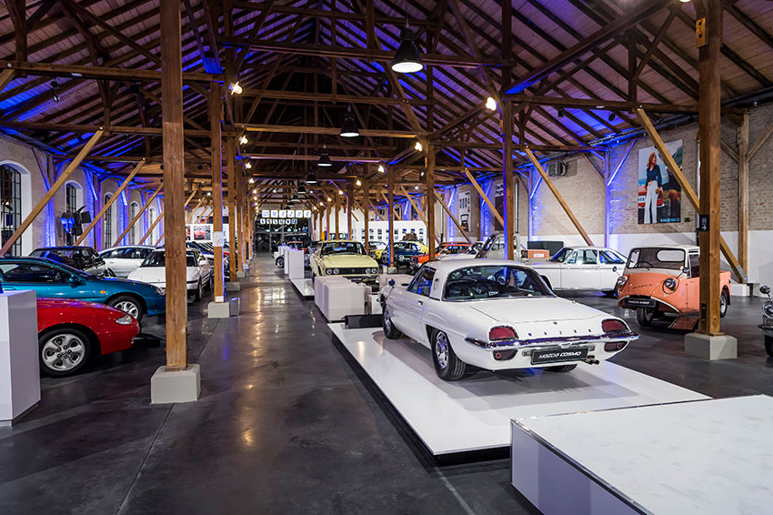 Join on us a trip to the Mazda Classic Automobil Museum Frey.