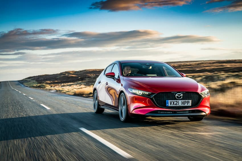 An exciting family hatchback: the new Mazda3