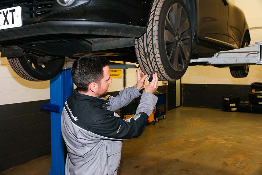 Tyres are a common cause of MOT failure