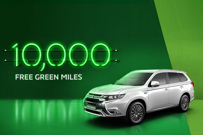 Where will you go with 10,000 free green miles?
