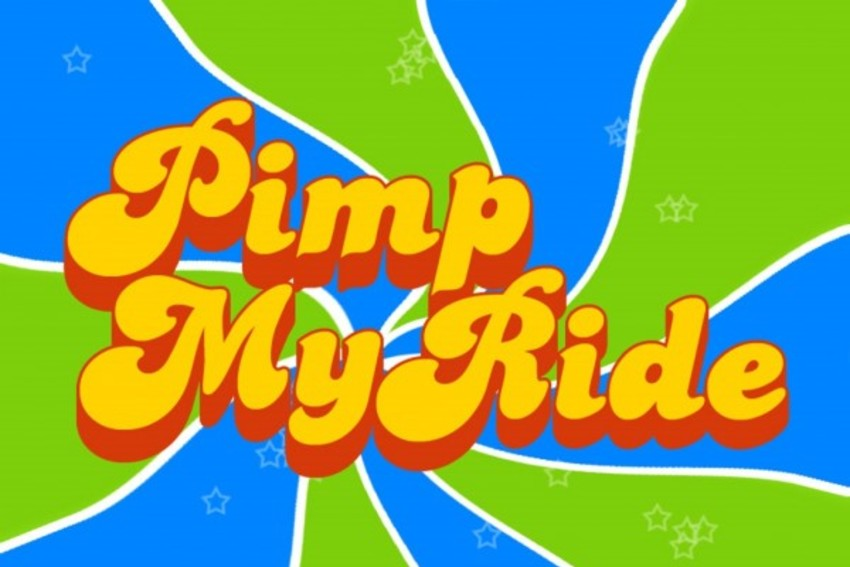 Pimp My Ride's logo was almost as funky as their custom cars