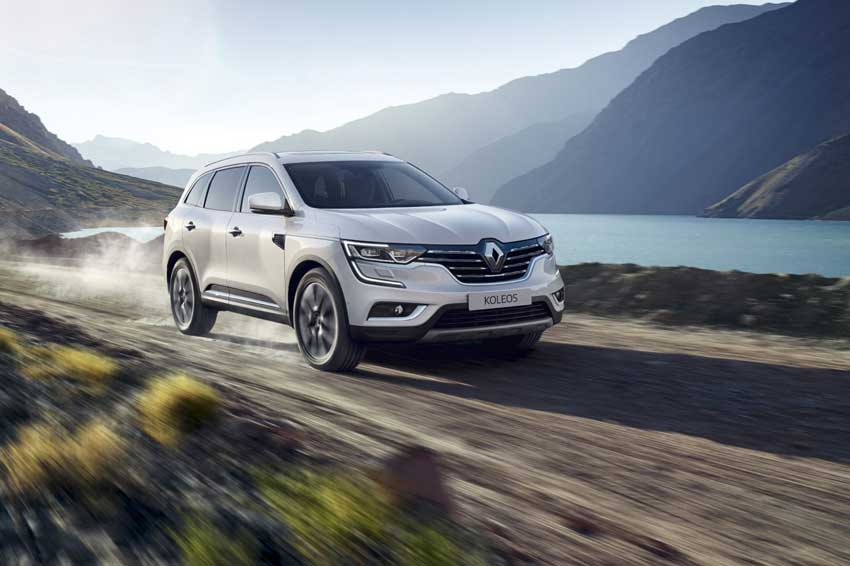 The all-new Renault KOLEOS.