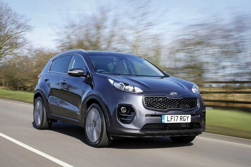 The Kia Sportage is among the top 20 models in AutoExpress's 2017 Driver Power Survey.
