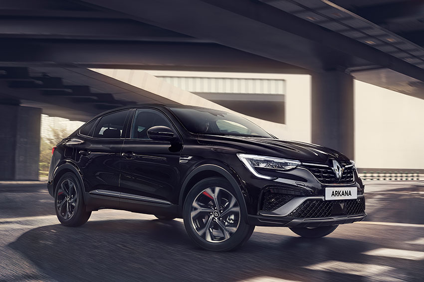 The all-new Renault Arkana.