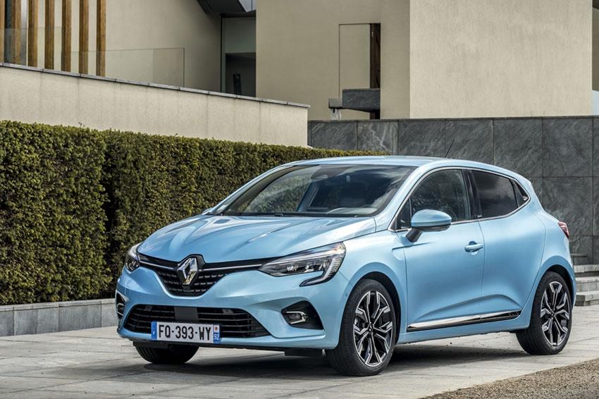 The new Renault Clio E-Tech Hybrid.