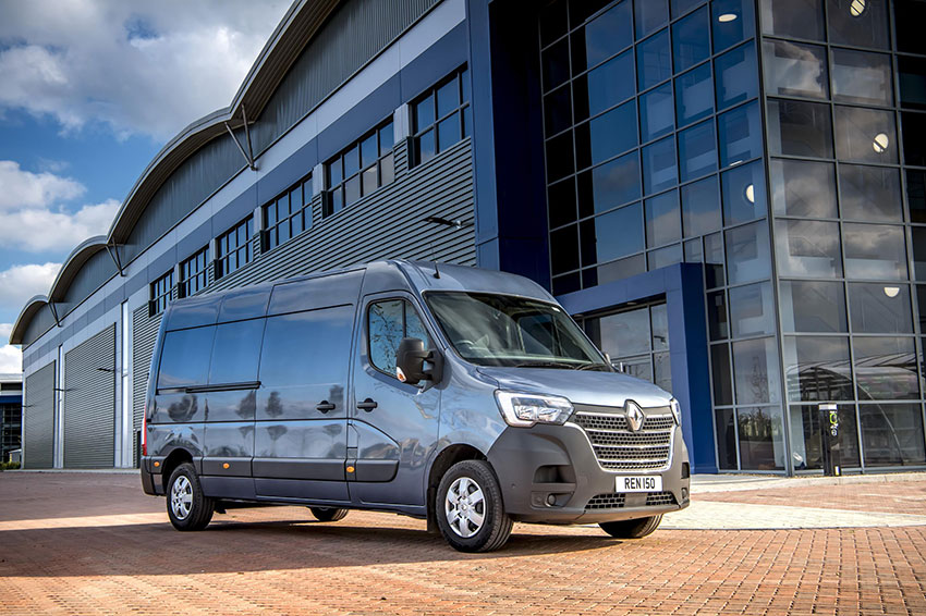 The Renault Master.