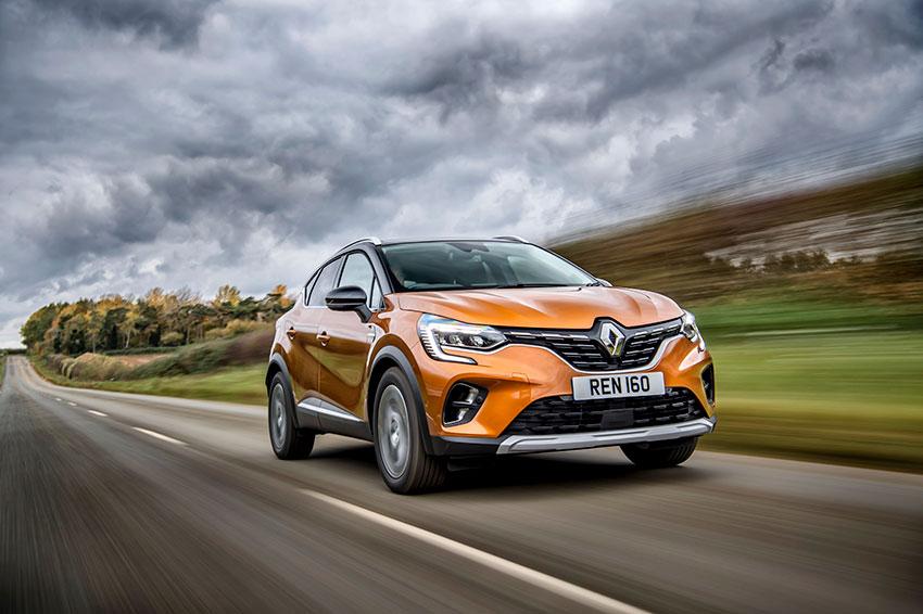 The Renault Captur E-TECH Plug-in Hybrid
