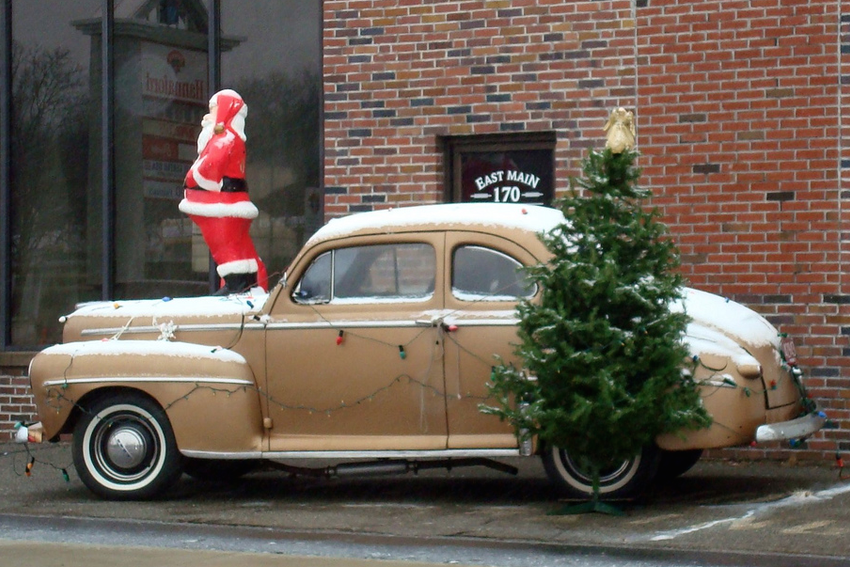 Christmas Car Decorations.How To Decorate Your Car For Christmas