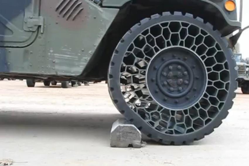 Bridgestone to launch airless tyres