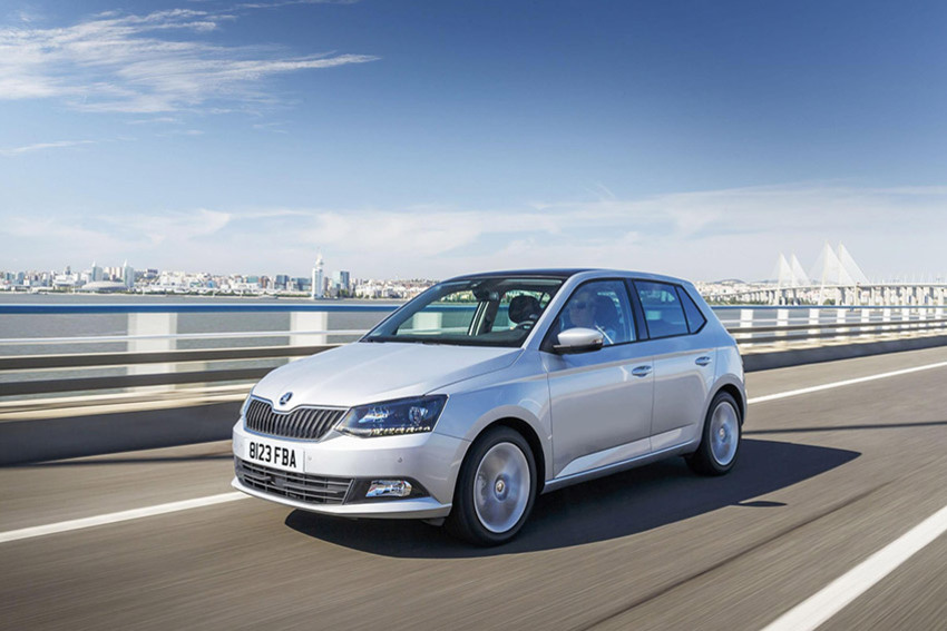the koda fabia has the biggest boot in our list