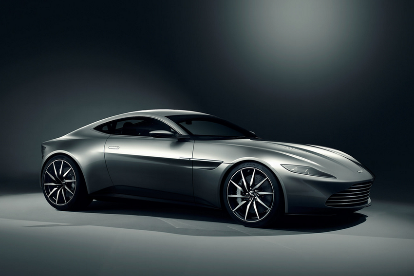 Aston Martin DB10 is Bond's new car. Image: Automotive Rhythms CC 2.0