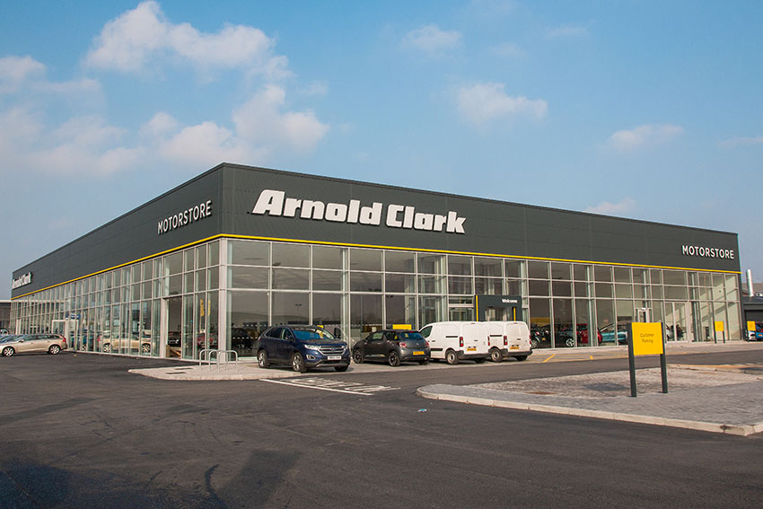 Some Arnold Clark branches have been closed due to extreme weather.
