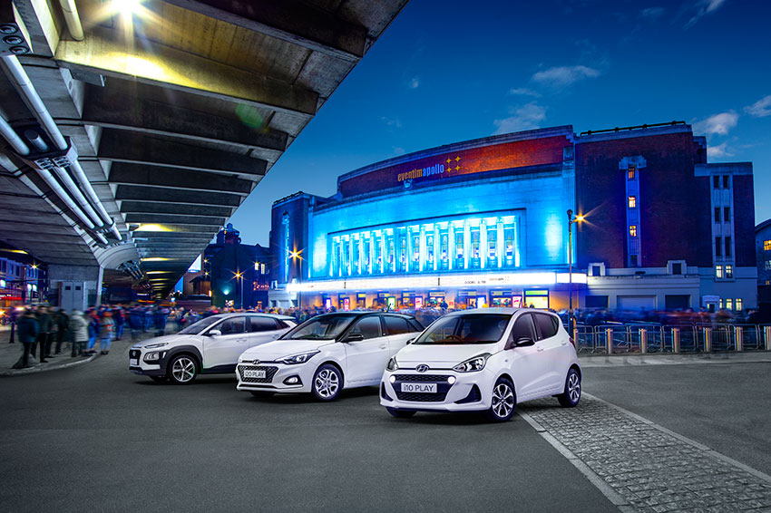 Experience the latest models in the Hyundai range.