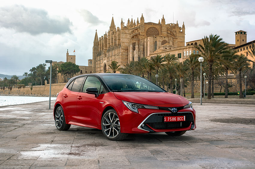 The all-new Toyota Corolla 2019.