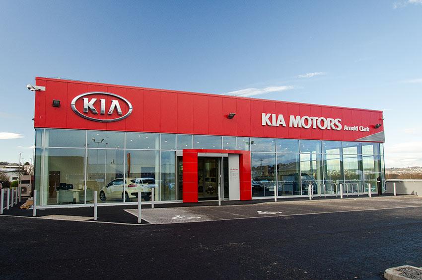 Aberdeen Kia Opens New Premises