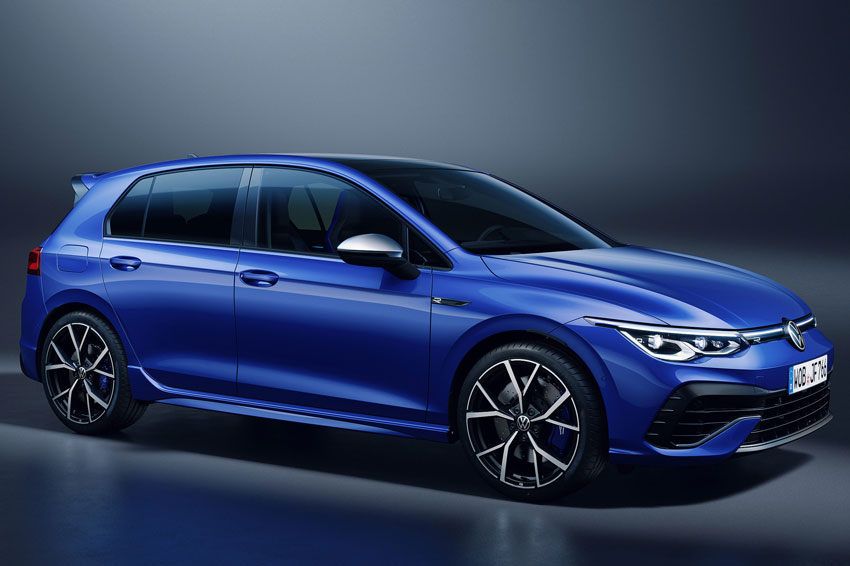 The all-new Volkswagen Golf R.