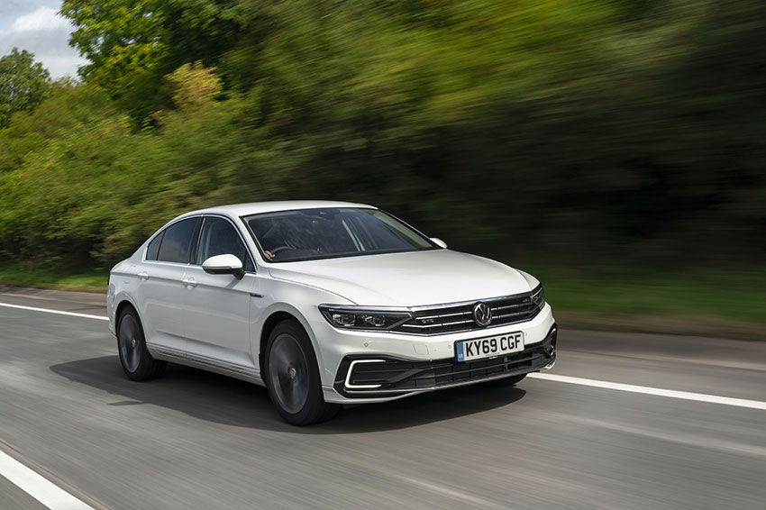 The 2019 Volkswagen Passat.