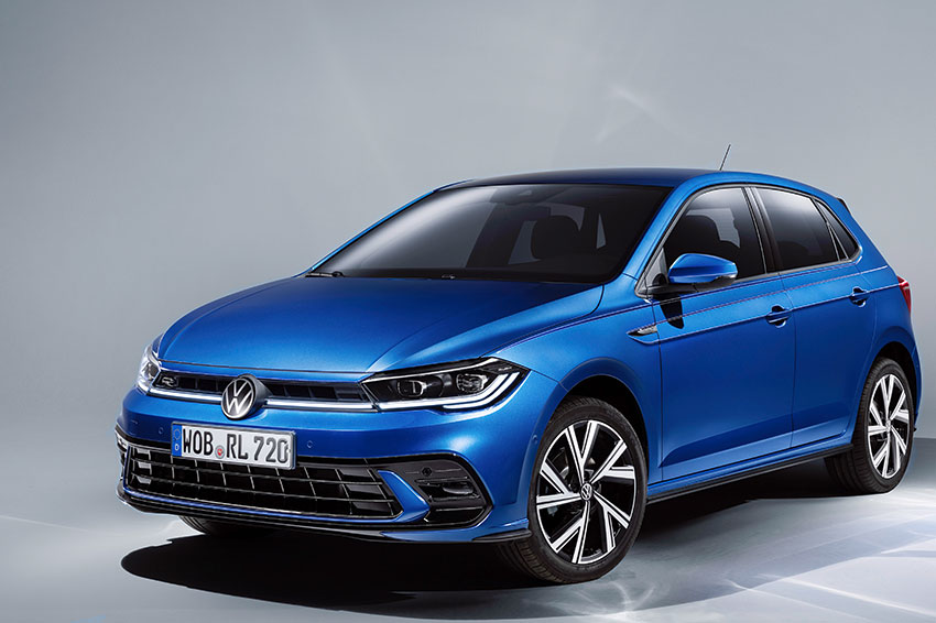 The revamped Volkswagen Polo in 2021