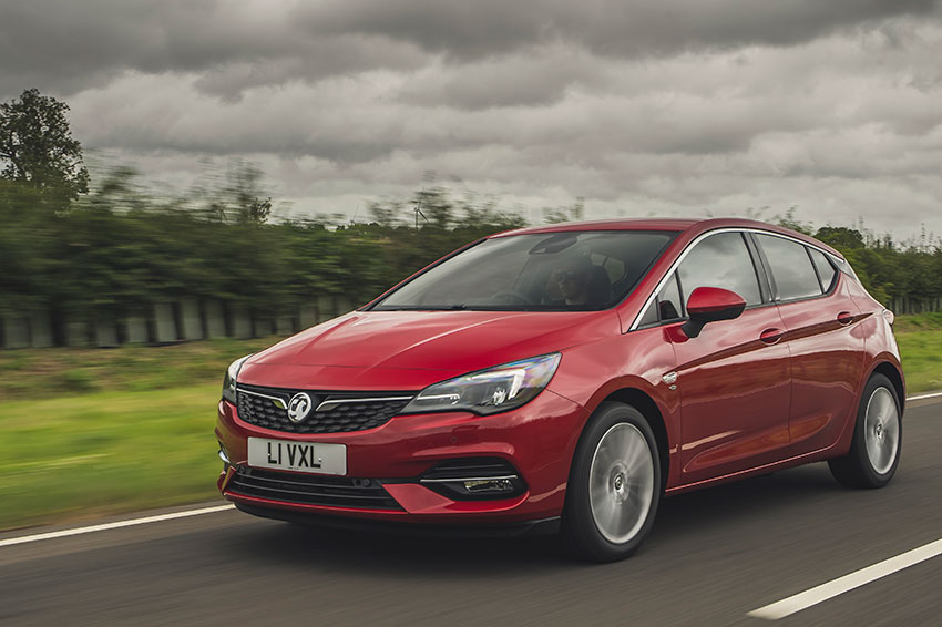 The 2020 Vauxhall Astra.