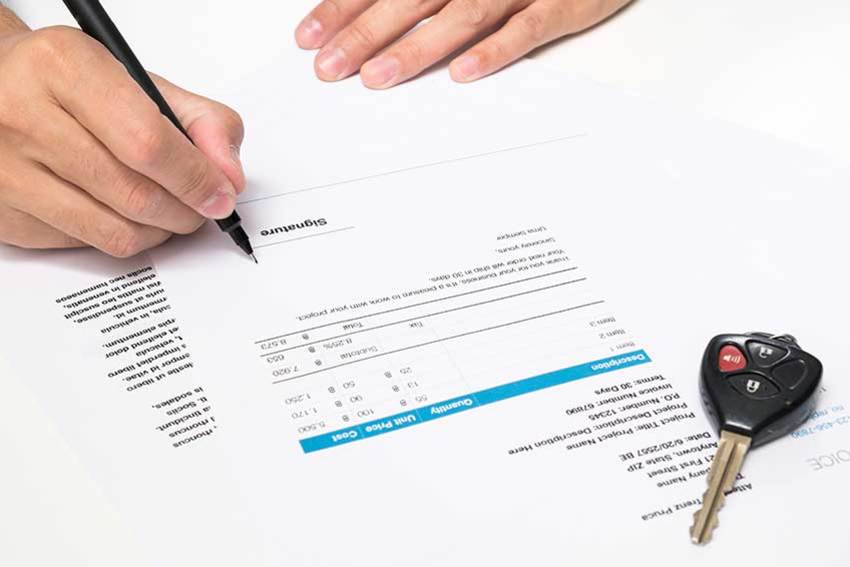 Documents you need when purchasing a new car for Documents you need to buy a car