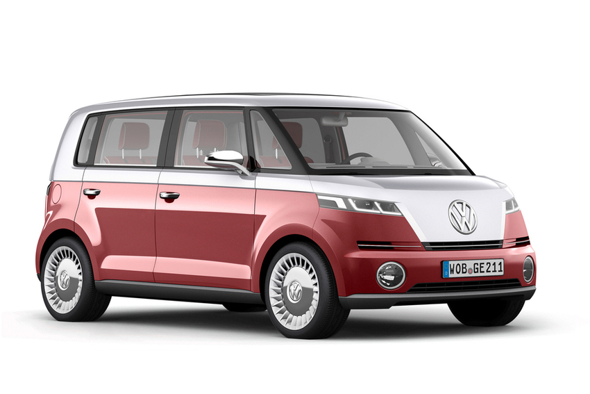 The Volkswagen Bulli concept - said to be an influence on the design of a new electric vehicle from Volkswagen