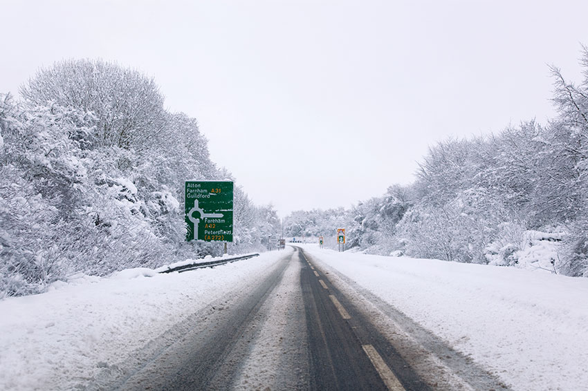 Remembering some simple driving tips this winter could help keep you safe on the roads