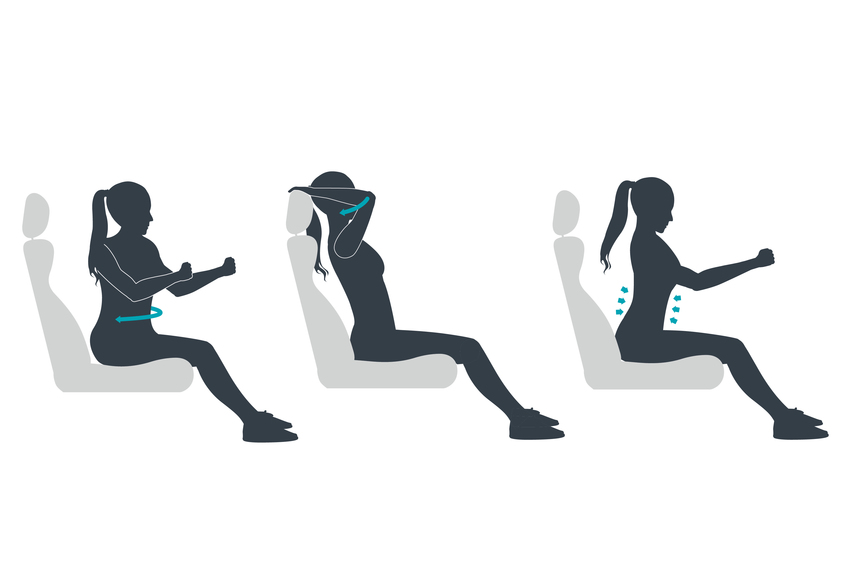 Keep toned while in your car
