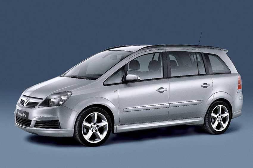 The Vauxhall Zafira B model