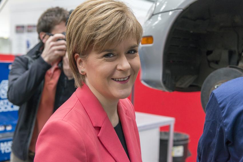 Nicola Sturgeon visits GTG, Glasgow.