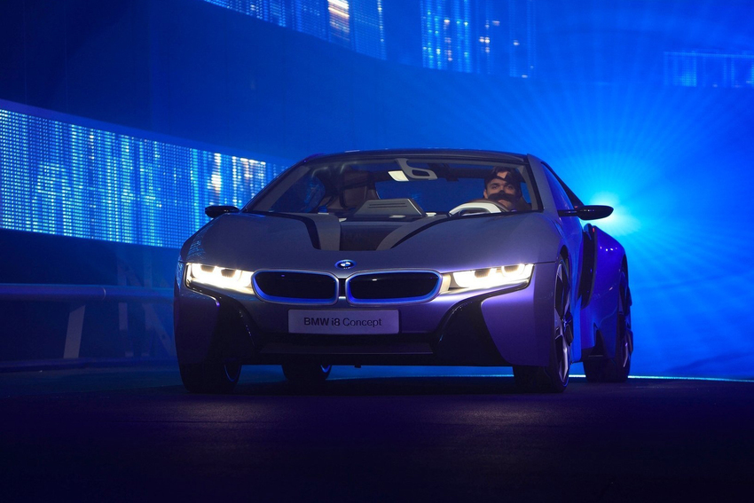 Laser Headlights Bmw I8 Will Be The First Production Car To Use Them