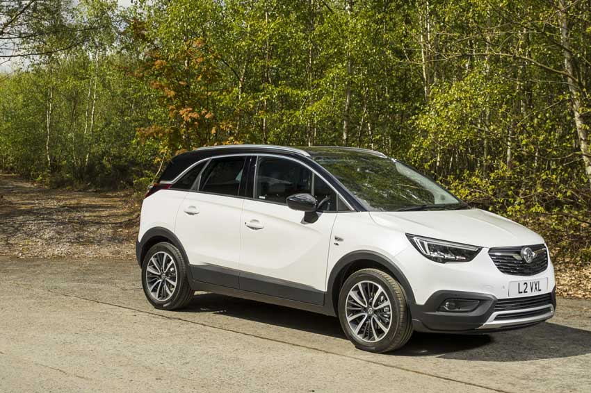 The all-new Vauxhall Crossland X