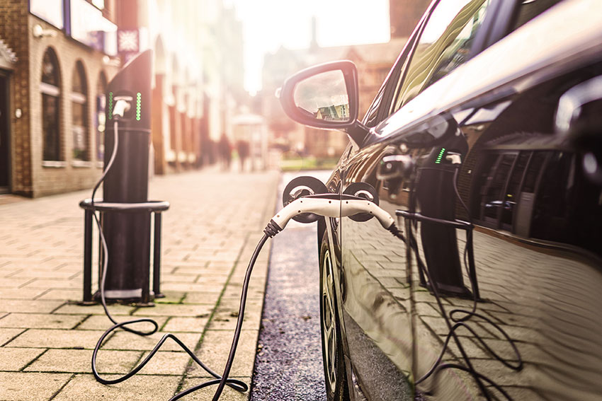 Electric cars are becoming increasing popular.
