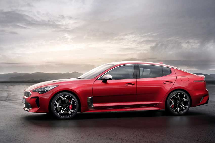 Nice The Kia Stinger GT