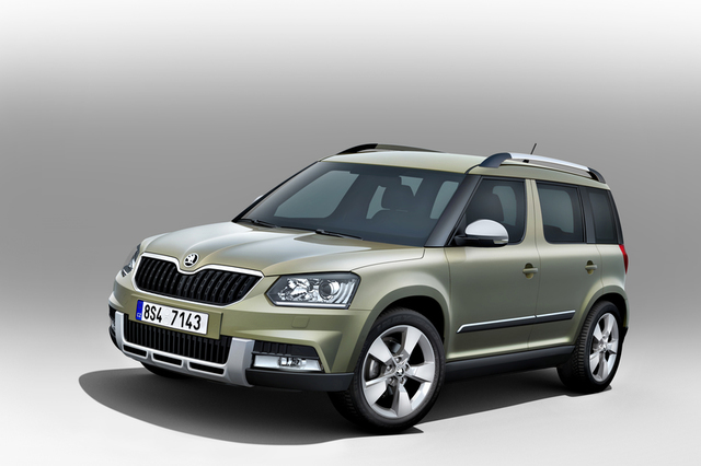 Two New Skoda Yeti Variants To Premiere At Frankfurt Motor Show