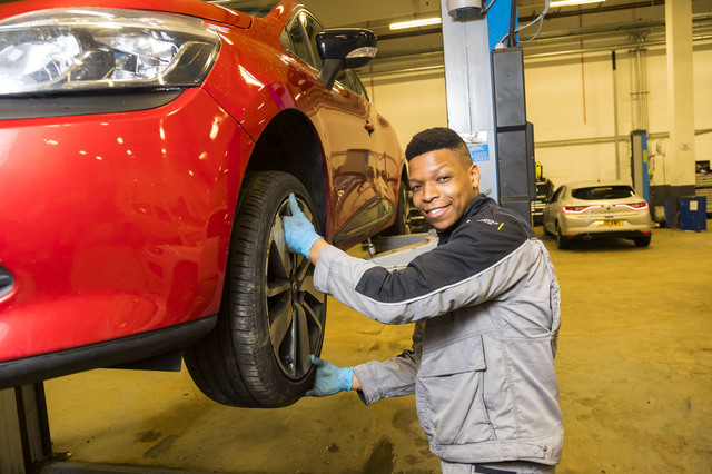 Find out more about becoming an apprentice.
