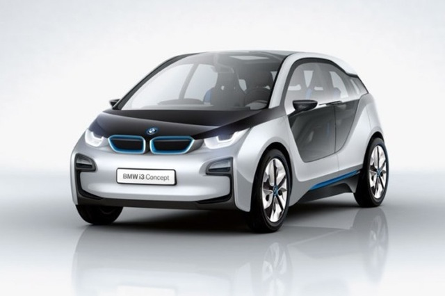 Bmw I3 Leaked Pictures Reveal Styling Of Brand New Electric Car
