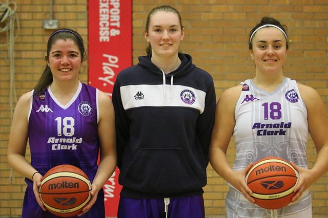 Hannah Robb, Pollyanna Storie and Shawnisay Millar are ready for the new season.
