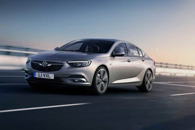 The all-new Vauxhall Insignia Grand Sport.