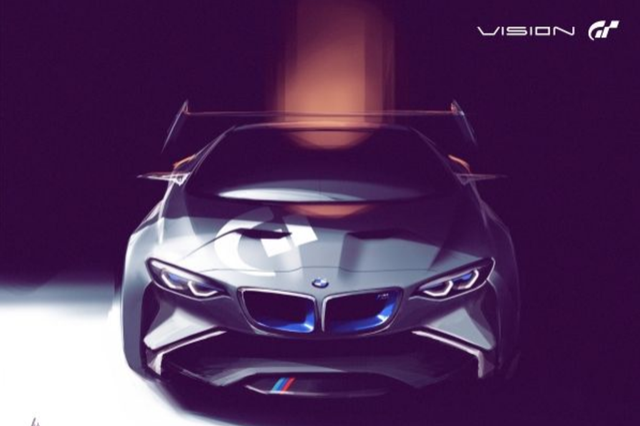 Bmw Create Exclusive Concept Car For Gran Turismo 6 Video Game