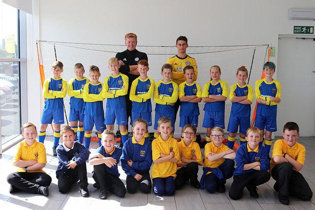 Whatriggs Primary football team.