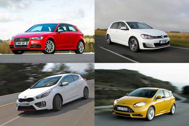 Explore the amazing range of hot hatches available.