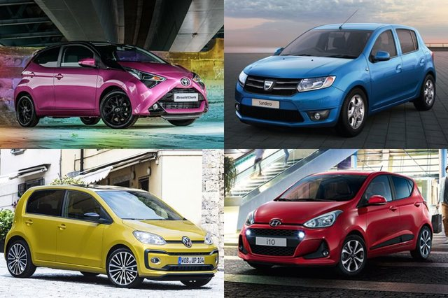 These nippy city cars are all available for less than £10k