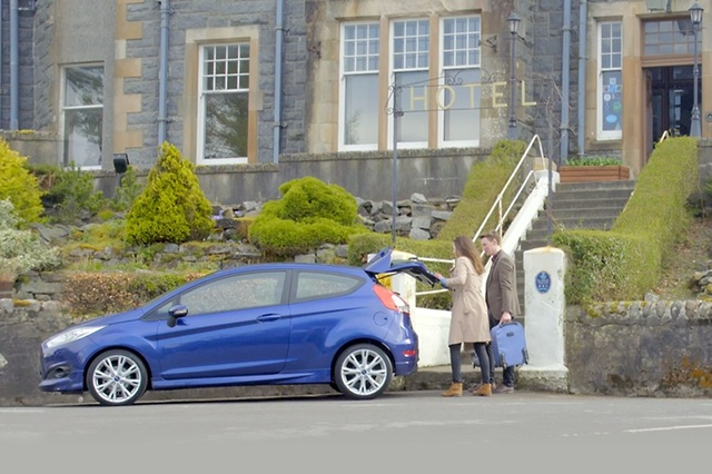Enjoy a free hotel stay when you test-drive a used car