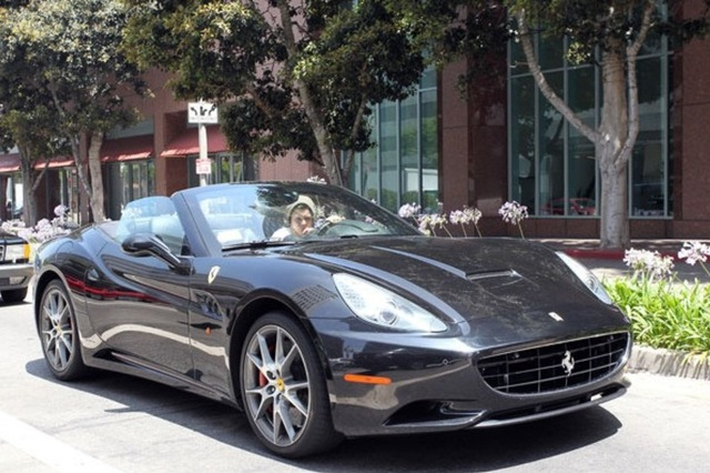 The California may be Ferarri's most radical model yet. Image: Pacific Coast News