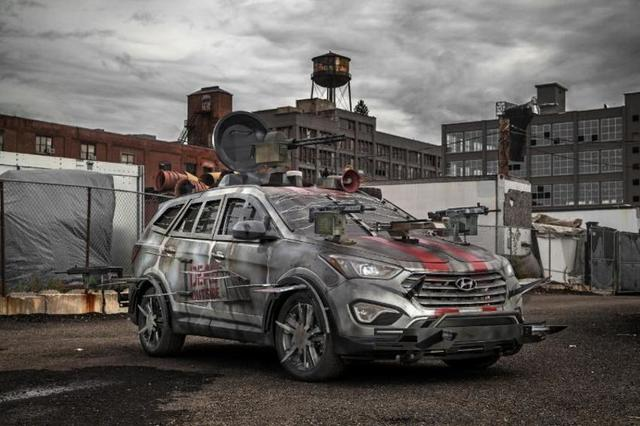 If you can get your hands on a car like this, you'll probably be fine if the zombies take over. Probably.