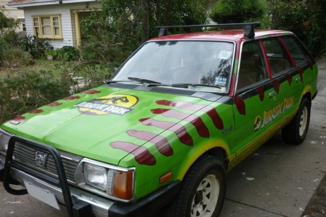 Jurassic Park car creation goes viral